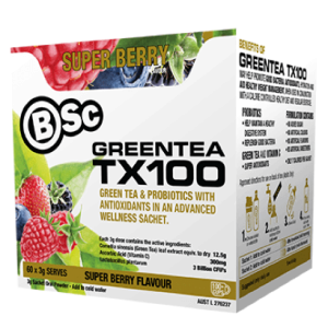 Super Berry Green Tea Envie Fitness